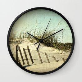 Lazy Days of Summer Wall Clock