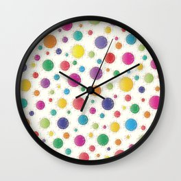 Here Comes The Early Summer Holidays Wall Clock