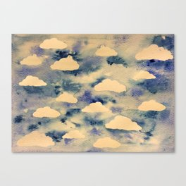 Cloud sky  Canvas Print