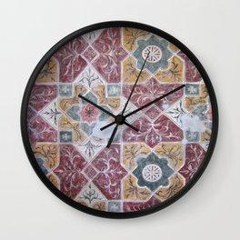 Geometric Wall Pattern Wall Clock
