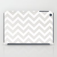 silver iPad Cases featuring SILVER by Monika Strigel