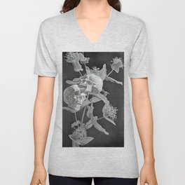 Skullflower Two Unisex V-Neck