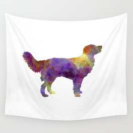Drentsche Partridge Dog in watercolor Wall Tapestry
