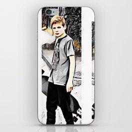 Skater boy iPhone Skin