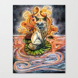 Lily Kitsune Canvas Print