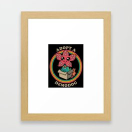 demodog Framed Art Print