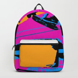 Tail Grabbing High Flying Scooter Backpack