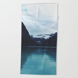 Moody Lake Louise Beach Towel
