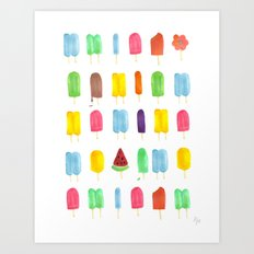 Summer Pop Art Print