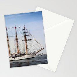 Sail Boston - Chilean Esmeralda. Stationery Cards