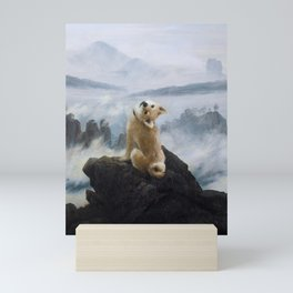 The Wanderer Above the Sea of Doge Mini Art Print