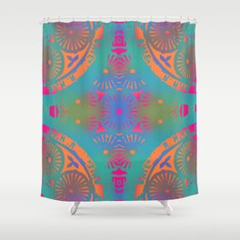 bowie: first tribute (influence) Shower Curtain