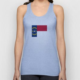 flag of north carolina-south,america,usa,Old North State,Tar Heel,North Carolinian,Charlotte,Raleigh Unisex Tank Top