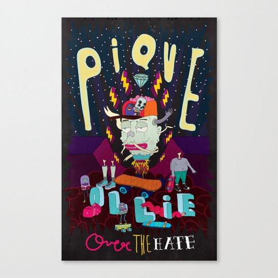 ollie Canvas Print