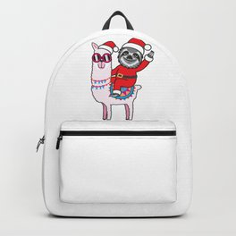 Sloth Llama Backpack
