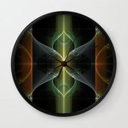 Fairy Gate Fractal Wall Clock