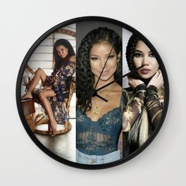 JheneAiko Poster Mix Wall Clock