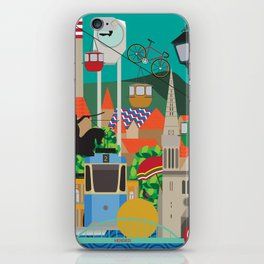 My city iPhone Skin