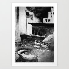 Escape! Art Print