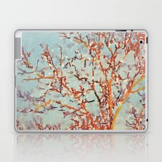 Change is in the Air -- Painterly Tree Branches From Fall to Winter Laptop & iPad Skin