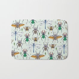 lucky insects Bath Mat