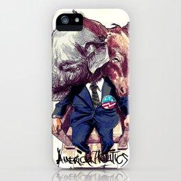 American Politics iPhone Case
