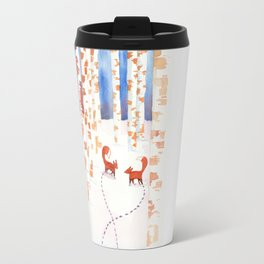 Footsteps Travel Mug