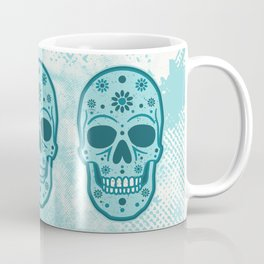 Sugar Skull Blues Coffee Mug