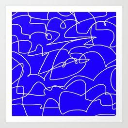 Squiggle 02 Art Print