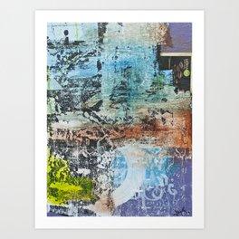 walls #4 Art Print