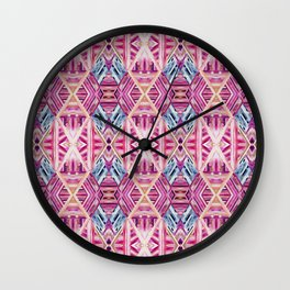 LINEA 019 Abstract Collage Wall Clock