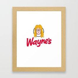 WAYNE'S SINGLE #2 Framed Art Print