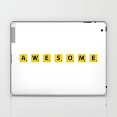 Awesome scrabble Laptop & iPad Skin