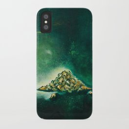 Pile of leaves iPhone Case