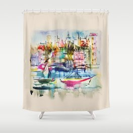 yacht Shower Curtain