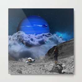 Escape from Blue Planet Metal Print
