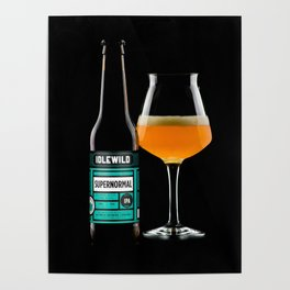 Poured super normal IPA Poster