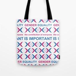 Gender Equality_10 by Victoria Deregus Tote Bag