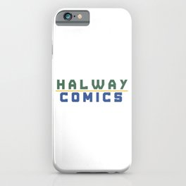 Halway Comics iPhone Case