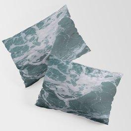 Ocean Waves Wall Art | Pacific Ocean California Nature Ocean Beach Coastal Travel Photography Print Pillow Sham