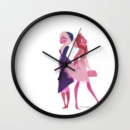 For you see my roommate is... Wall Clock