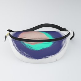 Metallic Hole Fanny Pack