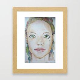 Feelings Are Beautiful Framed Art Print