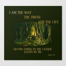 I Am The Way Canvas Print