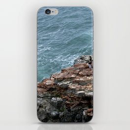 land meets sea iPhone Skin