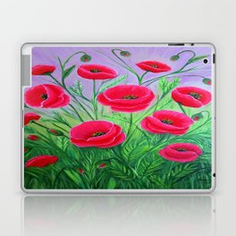 Poppies-8 Laptop & iPad Skin