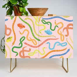 Snakes and Frogs Credenza