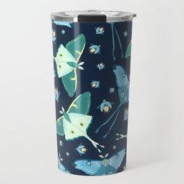 Magical Moth Night Travel Mug