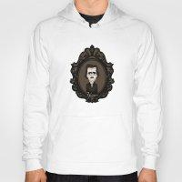 edgar allan poe Hoodies featuring Edgar Allan Poe by Designs By Misty Blue (Misty Lemons)
