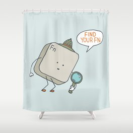 Find Your Function Shower Curtain